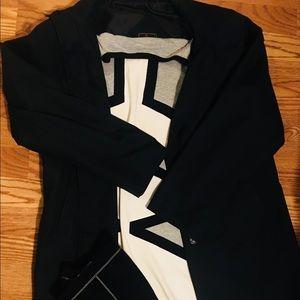 FENDI-Black rain coat